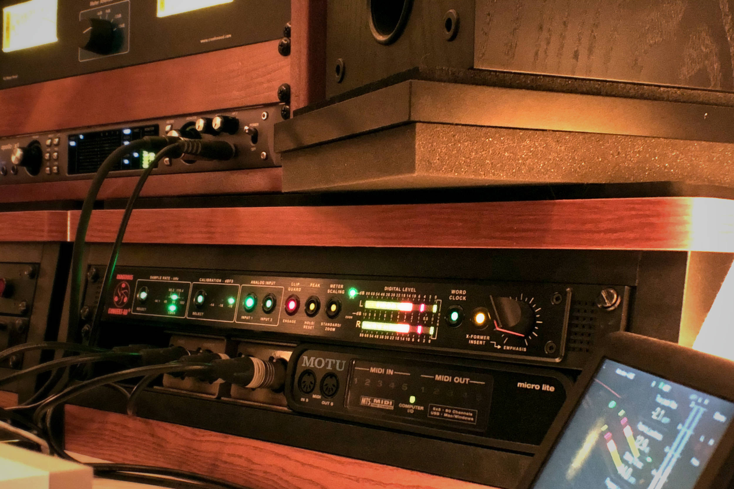 Right Back At It Again_St. Joseph Studio final mixing stage with Convert AD+